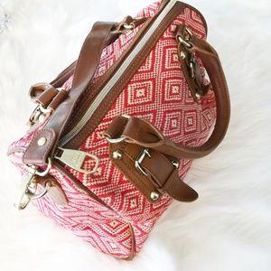 Steve Madden Small duffel crossbody Handbag Woven